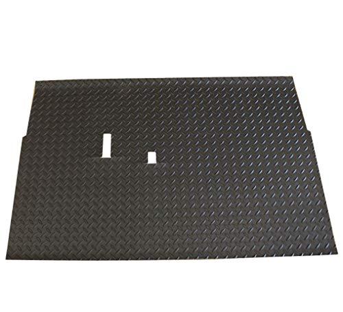 Bahama Golf Parts Club Car DS Diamond Plate Rubber Floor Mat