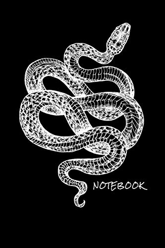 Notebook: Snake - Journal for writing I Composition Book I Squared paper / quad paper I with integrated page numbers l Narrow Ruled I Diary I 120 Pages I