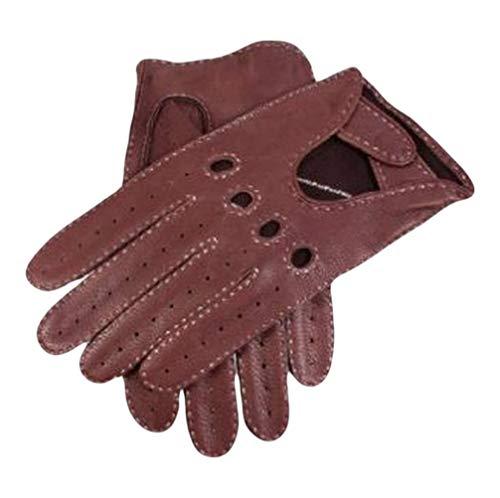 Dents Bark daim conduite en cuir gants 10 10