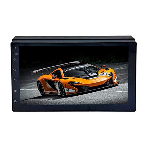 Kunfine Universal Android 10 Autoradio Auto Auto Stereo Multimedia Player GPS Radio 2.5D Pantalla táctil 10' Quad Core 1GB Ram 16GB...