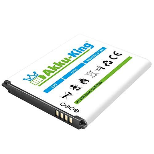 Akku-King Akku kompatibel mit Samsung EB-L1G6LLUCSTD - Li-Ion 2400mAh - für Galaxy S3, S3 Neo, GT-I9300, GT-i9305 LTE, GT-i9301