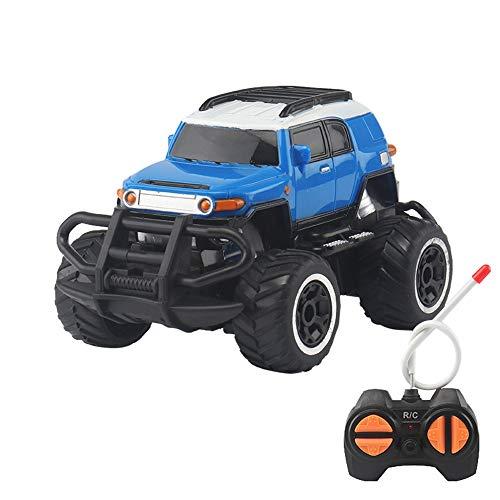 Liqiqi Ferngesteuertes Auto, Kinderspielzeug, ferngesteuertes Geländefahrzeug, Drift Geschwindigkeit, Rennauto, Spielzeug, Kinder, cooles Gadgets für Jungen, Mädchen, Teenager, Erwachsene blau