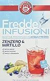 Pompadour Fredde Infusioni Zenzero & Mirtillo - 18 filtri - (confezione da 3)
