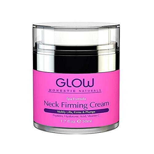 Moisturizer Neck Firming Cream For Face, Decollete & Chest - Collagen Peptides, Hyaluronic Acid & Vitamin C for Turkey Neck Tightener, Fine Lines, Wrinkle, Loose & Sagging - Men & Women 1.7oz