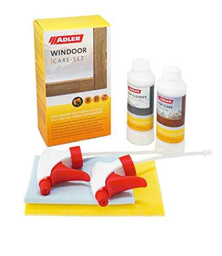 Windoor Care, kit di pulizia e pulizia per finestre e porte