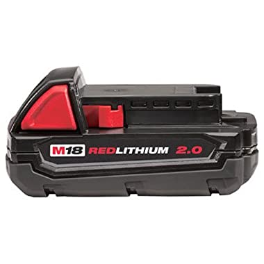 Milwaukee 48-11-1820 M18 18v REDLITHIUM 2.0 Compact Battery Pack