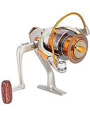 Keenso 12BB Carretes de Pesca con Mosca de Giro de Agua Salada Rueda Ocean Sea Boat Carrete de Pesca en Hielo Trolling para Metal EF500-9000