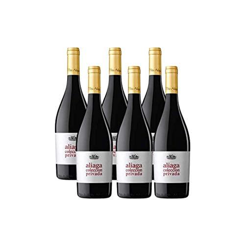 Aliaga Colección Privada 2015. Pack de 6 botellas. Vino tinto de Navarra de la Bodega Viña Aliaga