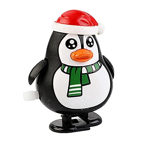 FINIVE Wind-up Toys - Juguetes de cuerda para decoración de Navidad, multiusos, resistente al desgaste, 8