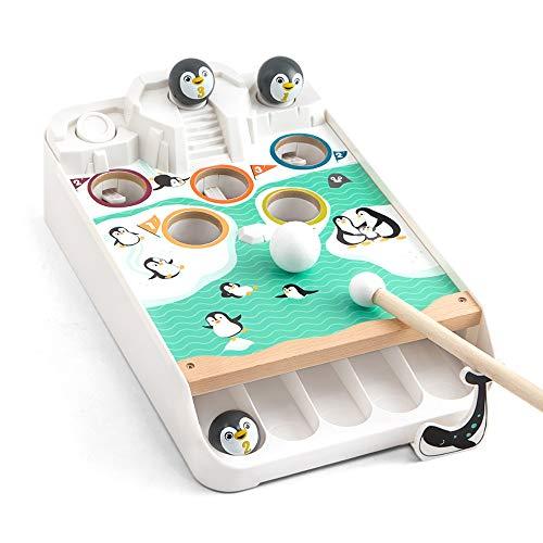 Lihgfw Puzzle Eltern-Kind-Spiel Pinguin Eisbrecher Billard kleine Billard 3-16 Jahre alte Kinder Jungen und Mädchen Babyspielzeug (Color : Multi-Colored)
