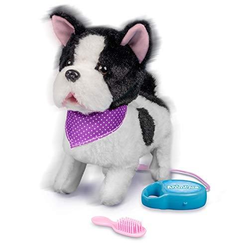 Französische Bulldogge / Bellender und gehender Hund mit Funktion (Leine/Fernbedienung)