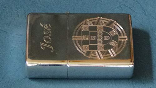 M&M MM 16113 ZORR Sturmfeuerzeug, Chrom, Silber, 8.5x6.5x2.5 cm