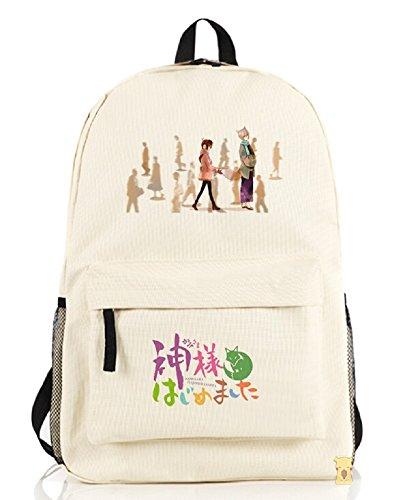 yoyoshome® Kamisama Kiss anime dibujos animados mochila mochila bolso de escuela