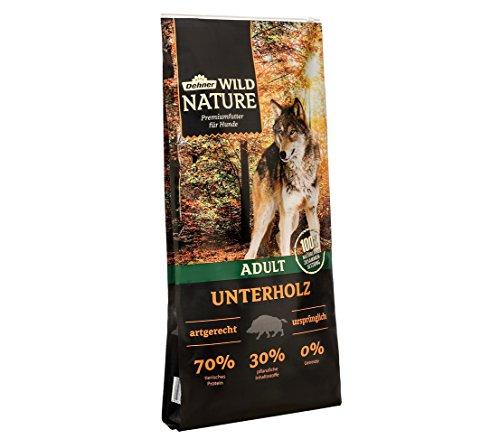 Dehner Wild Nature Hundetrockenfutter Adult, Unterholz, 12 kg