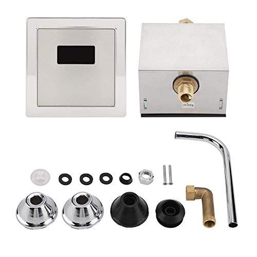 ZGQA-GQA Válvulas de inodoro inductivas automáticas del sensor de descarga del orinal del ahorro de agua, accesorios incluidos