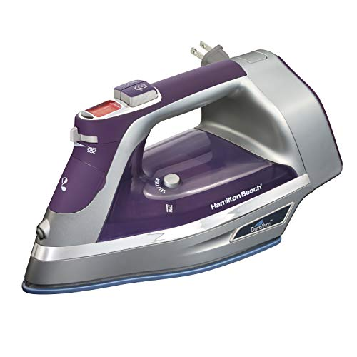 Save %5 Now! Hamilton Beach Durathon Digital Retractable Cord Iron, Purple