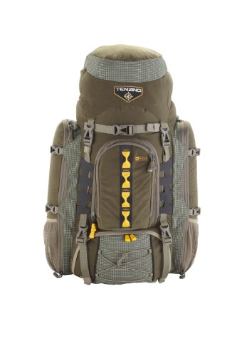 Tenzing TZ 6000 Internal Frame Hunting Pack, Loden Green, Large/X-Large by Tenzing
