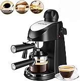Aicook Espresso Machine, 3.5 Bar 4 Cup Espresso and Cappuccino Coffee Maker, 2 in 1 Semi-Automatic...