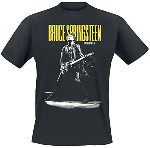 Bruce Springsteen Winterland Ballroom Guitar Uomo T-Shirt Nero XL 100% Cotone Regular