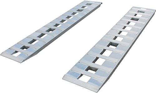 6 FT x 15' Aluminum 6800 LB RampS CAR Truck Trailer Auto Hauler Knife & Hook Ends