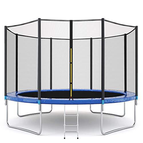 A&F Trampolín con red de seguridad para el hogar de los niños en interiores, comerciales, al aire libre, grande para adultos, 3,66 m