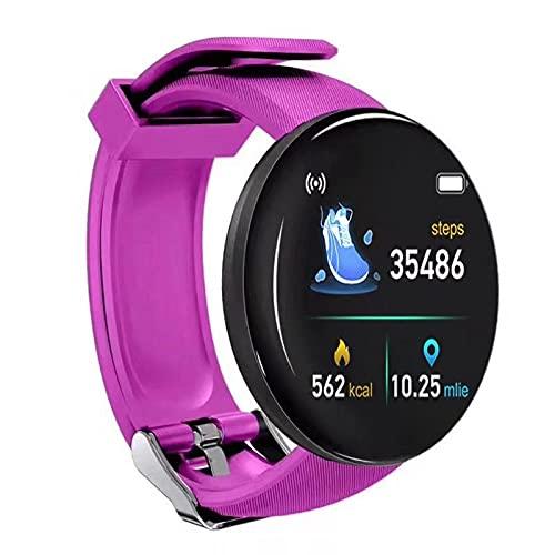 SmartWatch IP65 impermeable Fitness Tracker Fitness Watch Monitor de ritmo cardíaco Relojes inteligentes Soporte de frecuencia cardíaca, presión arterial, ect.