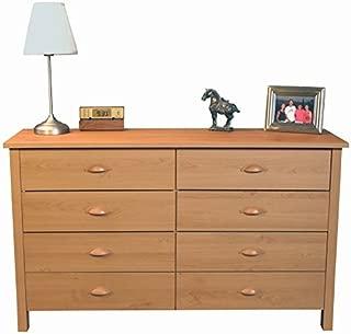 Venture Horizon 8 Drawer Nouvelle Dresser Oak