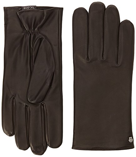 Roeckl Klassiker Fleece Gants, Marron (Mocca 790), 9.5 Homme