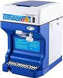 Trituradora de hielo comercial 220 V 50 Hz máquina de hacer cono de nieve escamas de acero inoxidable grado alimenticio para cocina barras de hogar