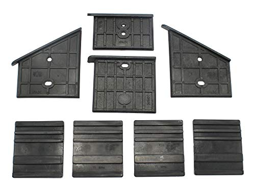 SECURA Kunststoffführungen unten + oben kompatibel mit Erba 16028 Holzspalter