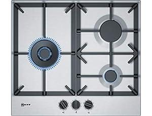 Plaque gaz Neff T26DS19N0 - Plaque de cuisson 3 foyers