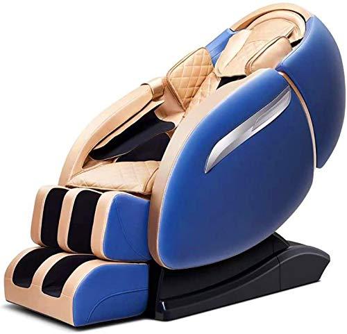 Erik Xian Massage Chair 4D multifunzionali Massager del Corpo/Relax ir, 3D Surround Sound - Air Massaggiatori - Zero Gravity - Calore Massaggio in The Back Professionale Massage And Relax Chair