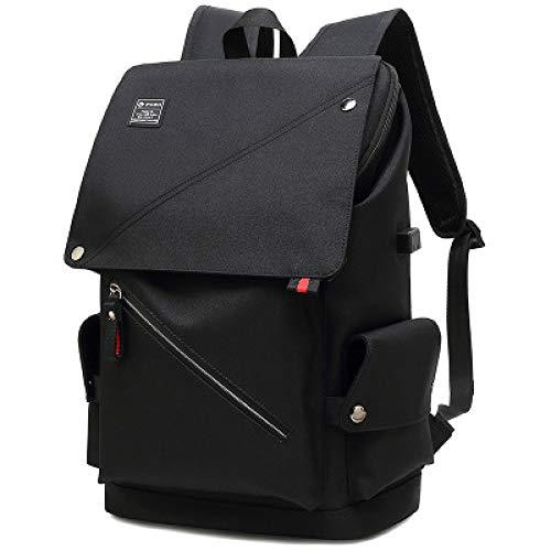 Tasche Rucksack Lässige Trekkingrucksäcke Wandern Reiserucksack Fahrradrucksäcke15,6-Zoll-USB-Laptop-Tasche mit großer Kapazität Wasserdichter Nylon-Rucksack im Freien