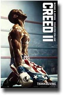 Creed 2 Poster Movie Promo 11 x 17 inches Kneeling Michael B Jordan Sylvester Stallone