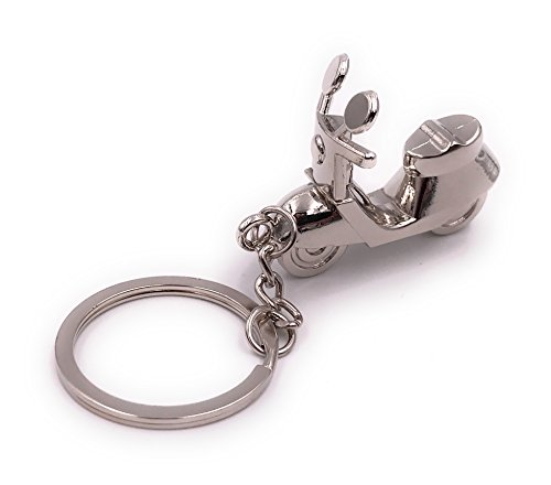 H-Customs Motorroller Roller Schlüsselanhänger besonderer Anhänger