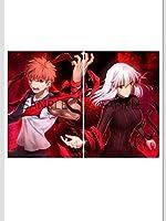 劇場版 Fate/stay night Heaven's Feel III. spring song TYPE-MOON ビジュアルボード 入場者特典 衛宮士郎 武内崇 間桐桜 fate 映画