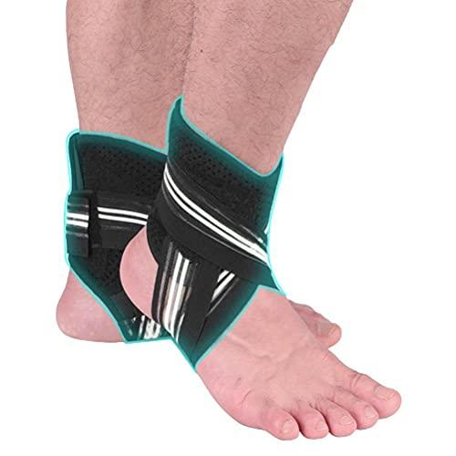 JSSEVN 1 par hälsporre strumpor ankelbandage fotbandage för män och kvinnor, plantar fasciit strumpor, kompressionsstrumpor för sport, fotboll, fitness