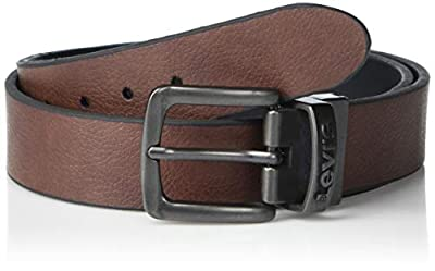 Levi's Boys Big Kids Belt - School Casual for Jeans with Reversible Strap