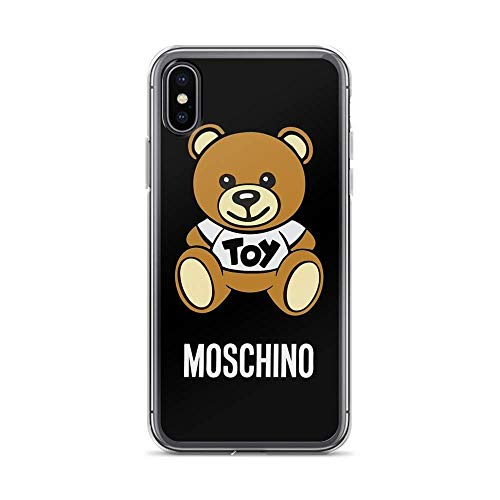 Phone case Compatible for iPhone Xs Max Pure Clear Cases Cover Moschino Toy Bear