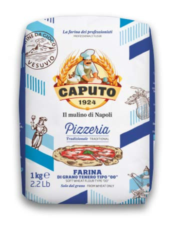 Caputo Farine premium de type «00» pour pizzas italiennes, 5 sacs de 1kg