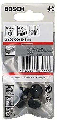 Bosch 2 607 000 546 - Set de 4 posicionadores de tacos, 10 mm