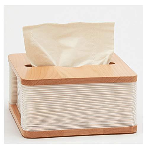 caja de pañuelos XHZ Caja de Tejido Multifuncional Sala de Estar de Lujo cajón de Coches Dormitorio Estiramiento de órgano Caja de Tejido: 16x17x3cm (Size : 16x17x3cm)