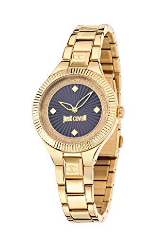 Just Cavalli Reloj analógico para Mujer de Cuarzo con Correa en Acero Inoxidable R7253215502