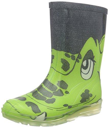Beck Croco, Stivali di Gomma Unisex-Bambini, Verde (Grün 22), 27 EU