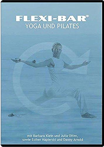 Flexi-Bar DVD Yoga und Pilates mit Barbara Klein und Danny Arnold, kombiniertes Training mit dem Flexi-Bar und Yoga & Pilates für Einsteiger und Fortgeschrittene Sprache Deutsch, Spieldauer ca. 45 min