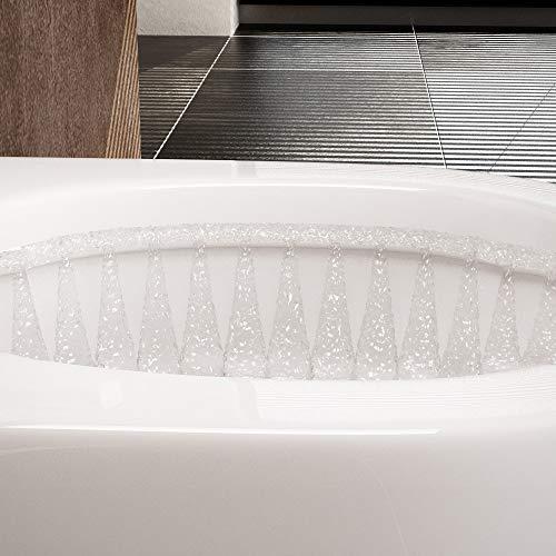 NEG Hänge-WC Uno11 (Tiefspüler) Toilette mit geschlossenem Unterspülrand, Duroplast Soft-Close-Deckel und Nano-Beschichtung - 6