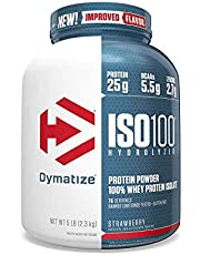 DYMATIZE ISO 100, STRAWBERRY 5LB