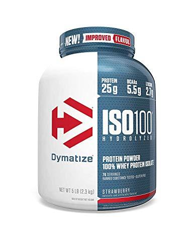 Whey Hidrolizado ISO 100 - Dymatize Nutrition - 5.0lbs - Morango