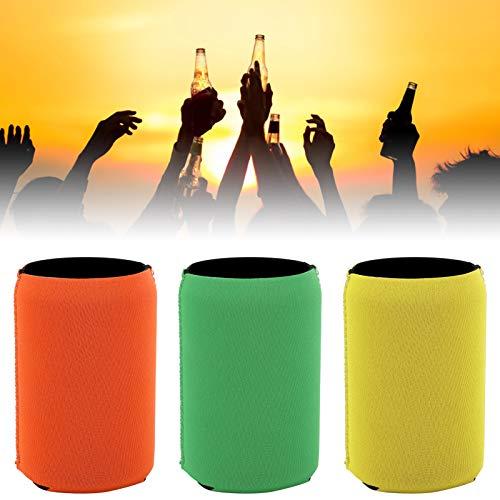 Funda para latas de cerveza con apariencia a todo color, para fiestas, playas, picnics