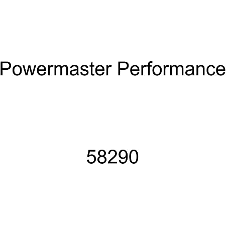 Powermaster Performance 18302 Chrome Alternator AD244 165A 6 Groove Pulley with 2 pin OE Hookup FR-L Regular